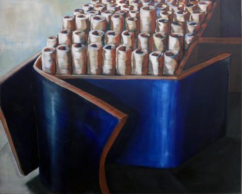 """Spulenbox"" 2014, Lalena Moseler"