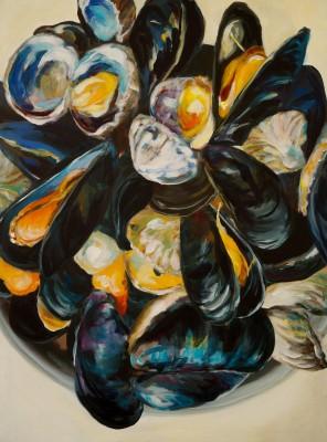 o.T. Acryl auf Leinwand 80 x 60 cm, 2014