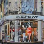 Repeat, 40 x 50 cm, Acryl auf Leinwand, 2014