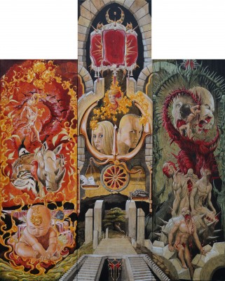 Spina-Triptychon 1