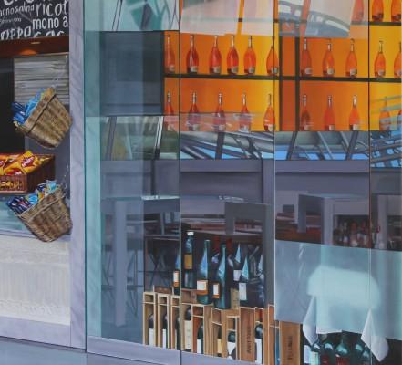 Square, 100 x 110 cm, Acryl auf Leinwand,  2014
