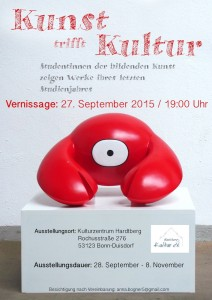 Kunst trifft Kultur Vernissage 27. September