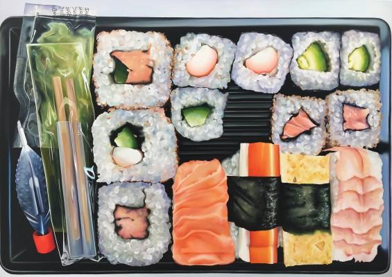 Sushi-Box ÖlaL100x140cm2017